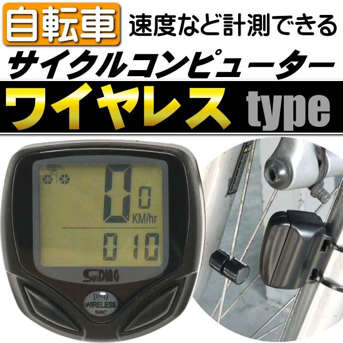 自転車サイクルメーター  距離 時間計測