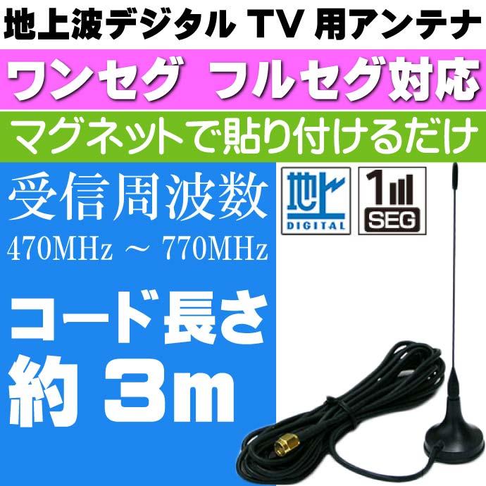 地上波デジタルTV用アンテナ