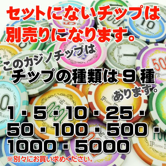 本格カジノプライムポーカーキャリーケースセット Ag019